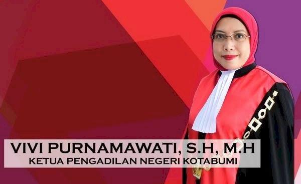 Ketua PN Kotabumi Vivi Purnamawati/Net