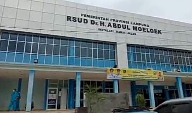 Rumah Sakit Umum Daerah Abdul Moeloek/ RMOLLampung