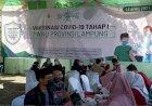 200 Pengurus Pesantren dan PWNU Lampung Jalani Vaksinasi Covid-19