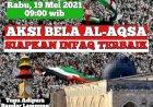 Lampung  Aksi Bela Al-Aqsa Di Tugu Adipura Rabu Pagi (19/5)