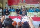 Polda Lampung Ekspose Ungkap Narkoba dalam 9 Bulan